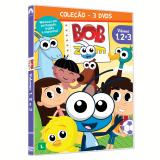 Coleção Bob Zoom (vol. 1 ao 3) (DVD) - Marcos Freire De Camargo Mello