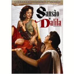 DVD - Sansão E Dalila - George Sanders, Angela Lansbury, Hedy Lamarr - 7898916494050