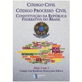 Código Civil Brasileiro, Código de Processo Civil, Constituição da República: Série 3 em 1 Montecristo Editora (Ebook) - Alexandre Pires Vieira