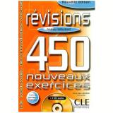 Revisions 450 Nouveaux Exercices - Niveau Debutant (Livre + Corriges) - Anne-marie Johnson
