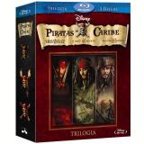 Piratas do Caribe - Trilogia (Blu-Ray) - Johnny Depp, Geoffrey Rush, Orlando Bloom