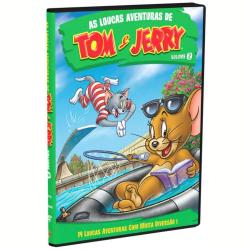 DVD - As Loucas Aventuras de Tom e Jerry - Vol. 2 - Desenho - 7892110130158