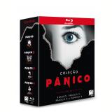 Coleção Pânico (1, 2, 3 e 4) (Blu-Ray) - Drew Barrymore, Neve Campbell, David Arquette