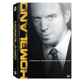 Homeland -1ª e 2ª Temporadas Completas (DVD) - Damian Lewis, Mandy Patinkin, Claire Danes