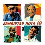 Sambistas Nota 10, V.3 (CD) - Vários Artistas