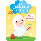 4+ Aprendendo As Palavras   Com Adesivos Reutilizaveis - Yoyo Books