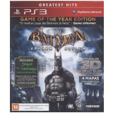 Batman Arkham Asylum: Game of The Year Edition (PS3) -