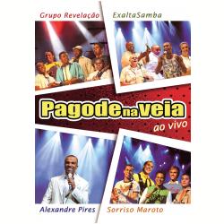 DVD - Pagode na Veia - Ao Vivo - Grupo Revelação, Sorriso Maroto, Exalta Samba - 5099901554298