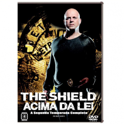 DVD - The Shield - Acima da Lei - 2ª Temporada - Michael Chiklis, CCH Pounder, David Rees Snell - 7892770014683