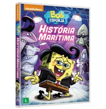 Bob Esponja Calça Quadrada: História Marítima (DVD)