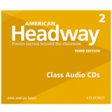 American Headway 2 Class (3 Cds) - Third Edition (CD) -