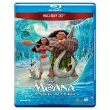 Moana - Um Mar de Aventuras 3D (Blu-Ray)