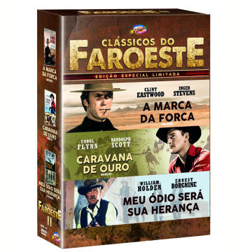 Box - Clássicos do Faroeste II (DVD)