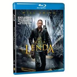 Blu - Ray - Eu Sou a Lenda - Will Smith, Alice Braga, Dash Mihok - 7892110055758
