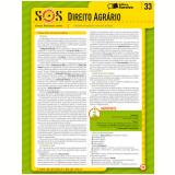 COLE��O SOS - S�NTESES ORGANIZADAS SARAIVA VOL. 33 DIREITO AGR�RIO - 1� edi��o (Ebook) - Vitor Frederico K�mpel