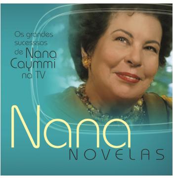 Nana Caymmi - Novelas - Os Maiores Sucessos De Nana Caymmi Na Tv (CD)