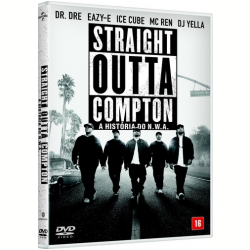 DVD - Straight Outta Compton - Ice Cube, Dr. Dre - 7899814209289