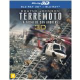 Terremoto - A Falha de San Andreas - (Blu-Ray 3D) +  (Blu-Ray) - Vários (veja lista completa)