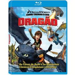Blu - Ray - Como Treinar O Seu Dragão - Chris Sanders ( Diretor ) - 7898512985457