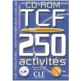 Tcf 250 Activites - Test De Connaissance Du Francais Cd - Rom - V�rios autores