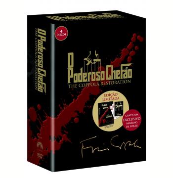 O Poderoso Chefão - The Coppola Restoration  + Baralho de Pôquer Personalizado  (DVD)