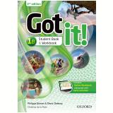Got It! 1b - Student Book - Workbook With Multirom - Second Edition -