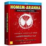 Box - Homem-Aranha (6 Discos) (Blu-Ray) - Vários (veja lista completa)