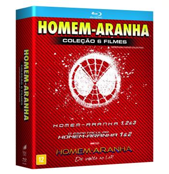 Box - Homem-Aranha (6 Discos) (Blu-Ray)