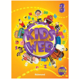 Kids Web Vol. 3 - 2 Ed. Livro Do Aluno + Multirom - Ensino Fundamental I - Edições Educativas da Editora Moderna