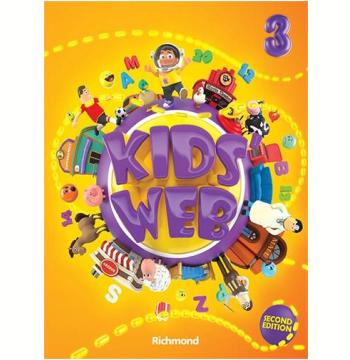 Kids Web Vol. 3 - 2 Ed. Livro Do Aluno + Multirom - Ensino Fundamental I