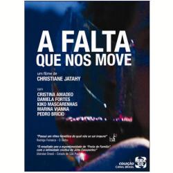 DVD - Canal Brasil - A Falta que Nos Move - Christiane Jathay - 7892141645669