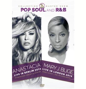 Anastacia 2014 e Mary J. Blige 2014 (DVD)