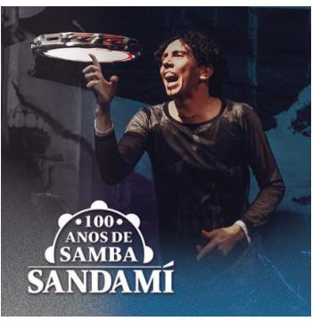 Sandamí - 100 Anos de Samba (CD)