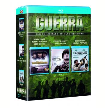 Box Guerra (Blu-Ray)