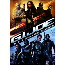 DVD - G.I. Joe - A Origem da Cobra - Sienna Miller, Dennis Quaid - 7890552102863