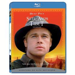 Blu - Ray - Sete Anos no Tibet - Brad Pitt, David Thewlis, B.D. Wong - 7892770018810