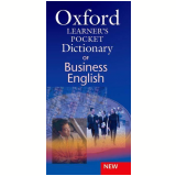 Oxford Learner'S Pocket Dictionary Of Business English - Oxford University Press