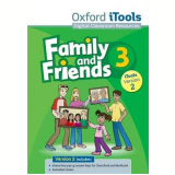 Family And Friends - Level 3 - Itools Dvd-rom Version 2 - Naomi Simmons