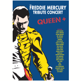 Queen + Freddie Mercury - Tribute Concert (DVD) - Vários