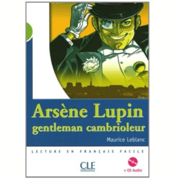 Arsene Lupin, Gentleman Cambrioleur (Niveau 2) Livre + CD