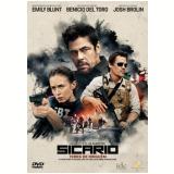 Sicário (DVD) - Benicio Del Toro, Josh Brolin, Emily Blunt