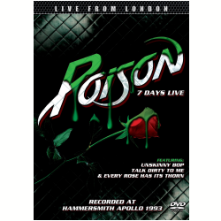 DVD - Poison - 7 Days Live - Poison - 7899340772691