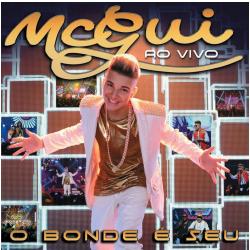 DVD - Mc Gui - O Bonde é Seu - Ao Vivo - Mc Gui - 602537775897