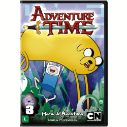 DVD - Hora De Aventura Com Finn & Jake, Vol. 3 - Larry Leichliter - 7892110196222