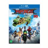 Lego Ninjago - O Filme (Blu-Ray + Blu-Ray 3D) - Vários (veja lista completa)