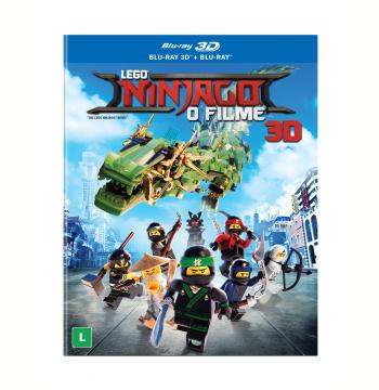 Lego Ninjago - O Filme (Blu-Ray + Blu-Ray 3D)