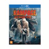 Rampage - Destruição Total (Blu-Ray + Blu-Ray 3D) - Vários (veja lista completa)