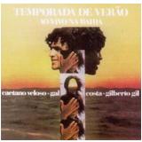 Temporada de Verão - Ao Vivo na Bahia (CD) - Caetano Veloso, Gilberto Gil, Gal Costa
