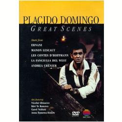 DVD - Placido Domingo - Great Scenes - Plácido Domingo - 5051011277122