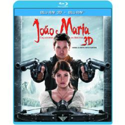 Blu - Ray - João E Maria: Caçadores De Bruxas - 3D - Vários ( veja lista completa ) - 7899587905173